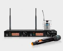 JTS UF-20 Dual Channel Wirless Radio Microphone System